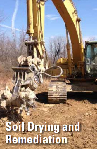 Soil Drying and Remediation